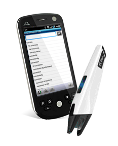Bluetooth CPen with 6 Western European Language Dictionaries - Android AppsPackage